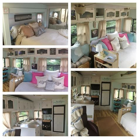 diy kitchen cabinet reno we used rustoleum cabinet for the 5th wheel cer on pinterest rv mods rv living