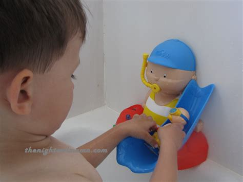 caillou bathtime activity review giveaway the
