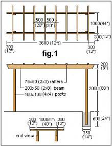 plans to build a house how to build a pergola or arbor instructions