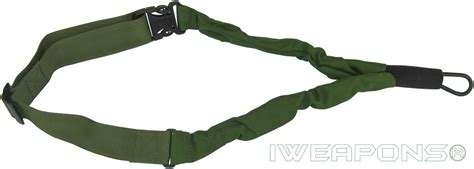 iweapons 174 idf 1 point bungee rifle sling release gun