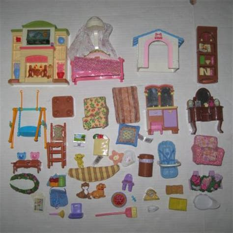 fisher price loving family doll house furniture click here to enlarge
