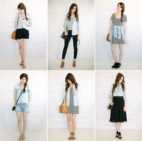 six ways to wear your chambray shirt