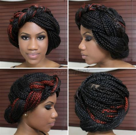 type of hair needed for box braids how to style box braids hair beauty pinterest box