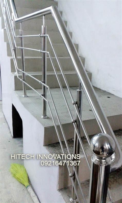 Stainless Steel Banister Rail by Stainless Steel Railings In Mohali Chandigarh And