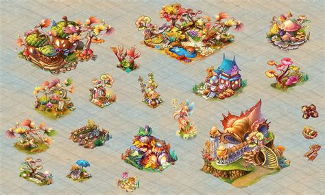 pre rendered  game sprites  isometric tiles