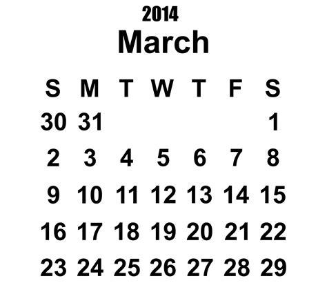 2104 calendar template 2014 calendar march template free stock photo