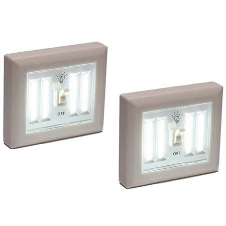 2 pack wireless light wall switch cob led 400