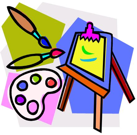 arts clipart paint clipart class pencil and in color paint