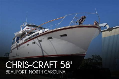 chris craft boats for sale north carolina for sale used 1971 chris craft 58 roamer in beaufort