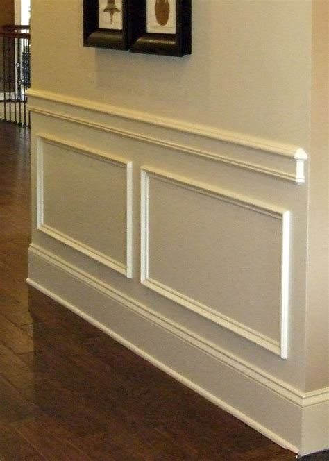 Install Wainscoting Drywall by Best 25 Chair Rail Molding Ideas On Dining