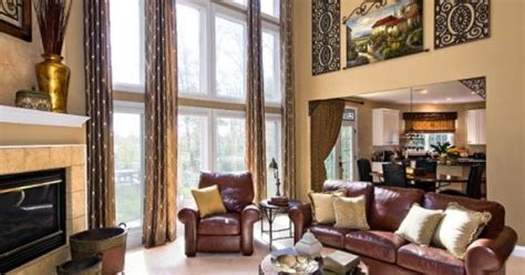 decorating large walls with high ceilings high ceiling big windows great room wall for that