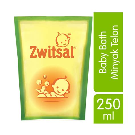 Sabun Zwitsal jual zwitsal baby bath with minyak telon 250ml