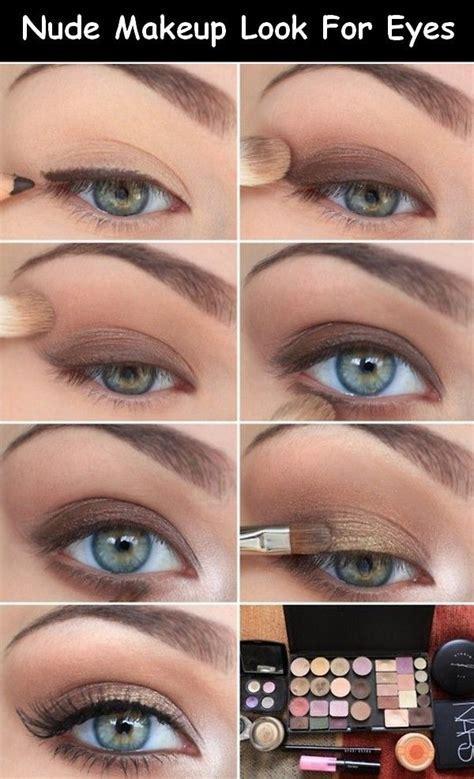 tutorial makeup for small eyes nude makeup daytime makeup tutorial daytime eye makeup