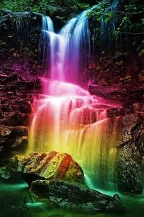 colorful waterfall gaia speaks the fifth chakra spiritual health