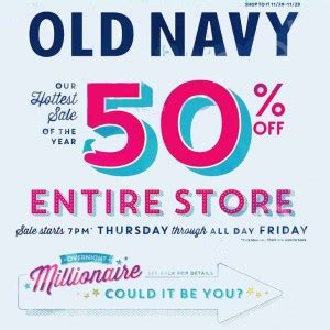Old Navy Million Dollar Giveaway - old navy black friday 2013 ad find the best old navy black friday deals and sales