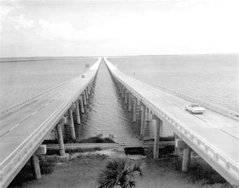 Pensacola Fl Court Records Florida Memory Escambia Bay Bridge