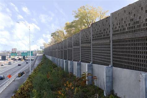 noise barrier sound absorptive precast concrete noise barrier