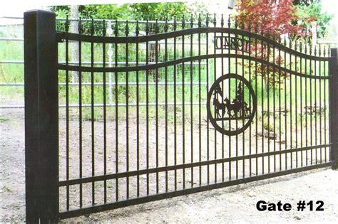 single swing driveway gate railing contractor portlan oregon