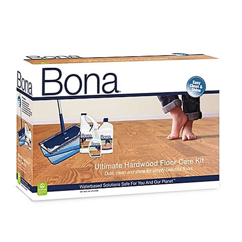 Bona® Ultimate Hardwood Floor Care Kit   Bed Bath & Beyond