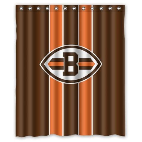 cleveland browns shower curtain bengals curtains cincinnati bengals curtain bengals