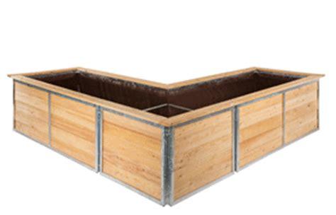 hochbeet in l form hortico das hochbeet bausatz aus l 228 rche stahl