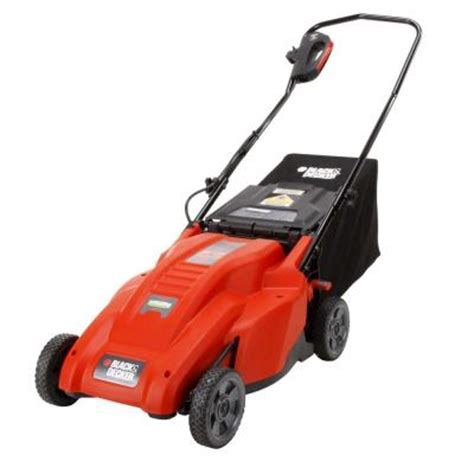 black decker 18 in 12 corded electric lawn mower