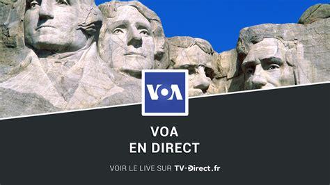 voa live voa news direct regarder voa news live sur