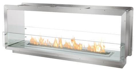 ignis bio ethanol fireplace insert contemporary indoor