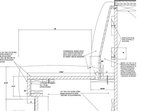 banquette section cad design banquette seating dimensions pictures to pin on
