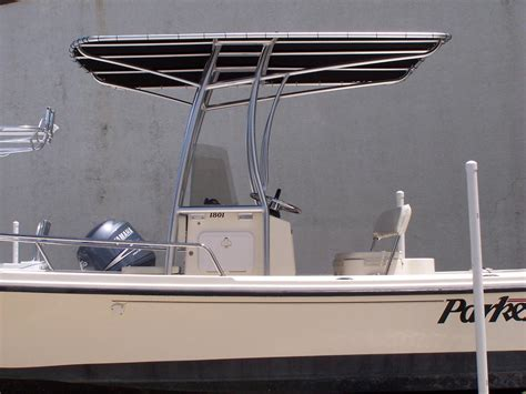 parker boat t top parker t tops for center consoles photo gallery