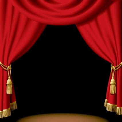 red curtain clipart stage curtains clipart best