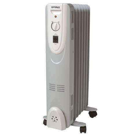 optimus portable oil filed radiator heater thermostat optimus 600 watt to 1500 watt electric oil filled radiant