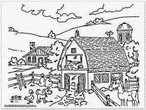 color farm free coloring pages of dairy farm