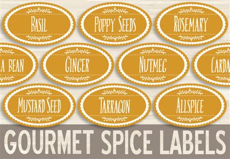 free printable oval jar labels printable spice labels 1 5x2 5 oval sticker