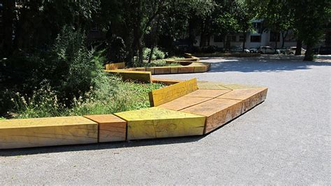 playground bench kala playground and green space in berlin by rehwaldt la 171 landscape architecture