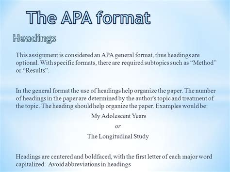 research paper subtopic headings writing  college