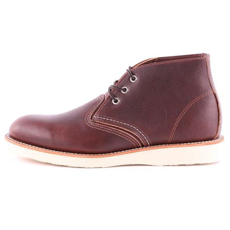 Wing Chukka wing chukka 03141d mens laced leather chukka boots