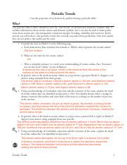 Periodic Table Trends Worksheet Answer Key Pogil Review