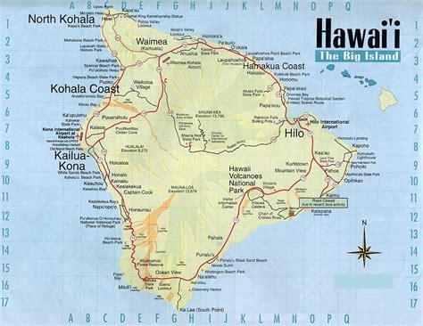 maps of hawaii map of hawaii