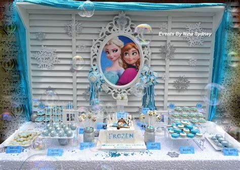 karas party ideas frozen princess birthday party decor ideas cake planning idea