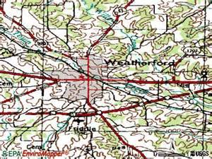 where is weatherford on the map weatherford tx 76085 76086 profile population