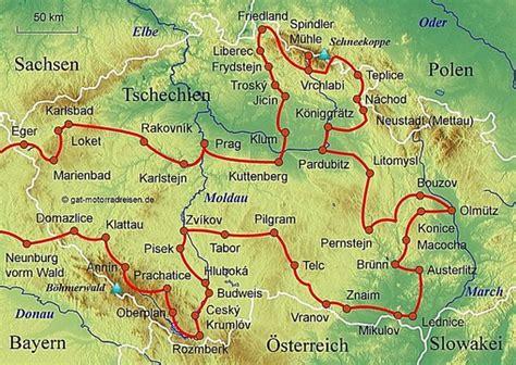 Motorradfahren In Tschechien motorradreise tschechien gef 252 hrte motorradtouren
