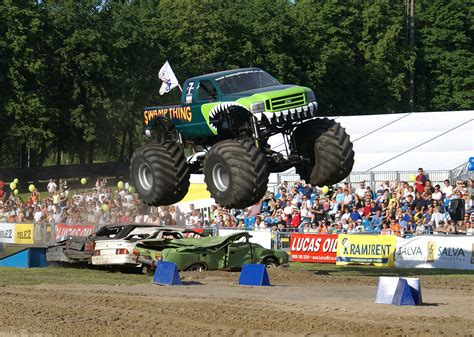 show monster trucks wallpaper crazy monstertrucks