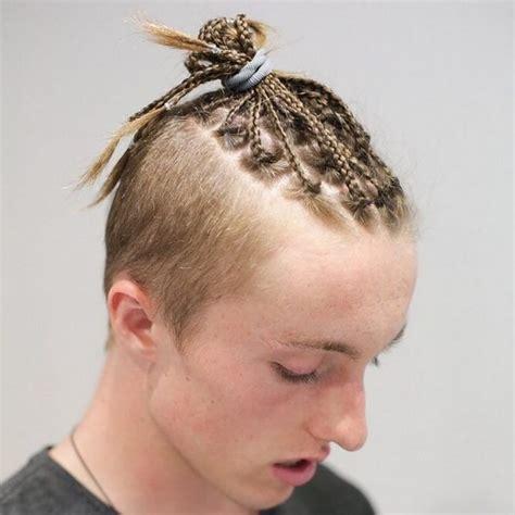 mens tie back hairstyles men s braids ultimate top 80 men s braid hairstyles designs