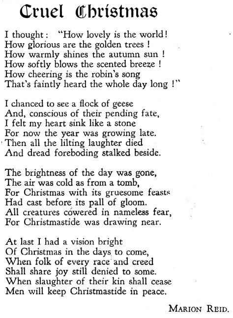 beautiful christmas poems