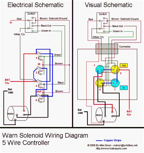 winch in cab switch wiring diagrams diy modifications