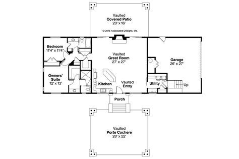 lodge style floor plans lodge style house plans spindrift 31 016 associated