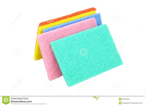 Kitchen Scouring Pads by Kitchen Scouring Pads Stock Photo Image 30313500