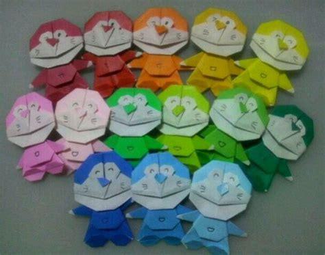 Origami 3d Doraemon - origami doraemon craft ideas origami
