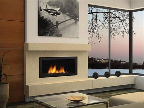 Linear Gas Fireplace Designs by Chimeneas Modernas Antonio Rosales